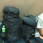 旅の相棒のバックパックはMILLET(ミレー) 40+5(SAAS FEE)がおすすめ!!