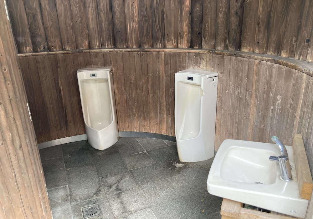 ミニ鉄道公園 トイレ